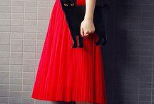 Skirtsy • Flirtsy • Girlsy / It's All Fashion Art To Me