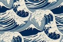 Japanese Waves - Tattoo Idea