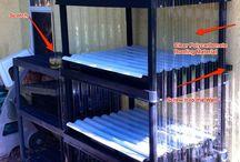 clear corrugated plastic ideas