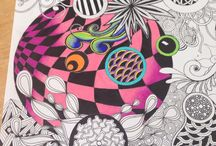 Tangles and Doodles - wonderful art:))