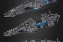 Space ships design