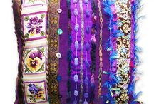 Luxury Handmade Cushions / Our luxury designer handmade scatter cushions will add that final touch to any room. Manufactured in various sizes.   They are all unique and very exotic, made from new and vintage high quality fabrics, including silk, satins, cotton velvets and cotton lawns