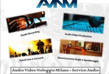 Noleggio strumentazione luci materiale attrezzatura Milano