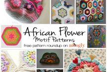 CROCHET - AFRICAN FLOWERS FREE PATTERNS