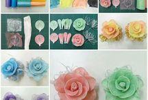 fiori nylon