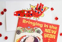Chinese New Year / Here's all kinds of crafts and activities for kids to help celebrate the Chinese New Year!