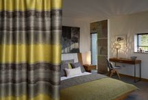 Artisan / Collection photography of hospitality soft furnishings - A wide width flame retardant collection of contract jacquard fabrics, echoing the drama and colours of nature and highlighted with indulgence velvet.