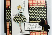 Cards--Girls Figures