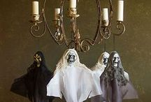 Scary Halloween Decorating Ideas / Host a night of spirited Halloween fun with a house full of skeleton guests, ghosts and things that go bump in the night! With these décor tips, you'll be sure to send a chilling welcome to all who enter your to-die-for party! / by Party City
