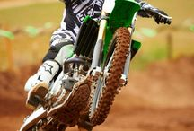 ATV Motorcross / John Bononyi grew up doing motocross and still loves it.