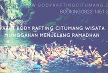 Paket Body Rafting Citumang Wisata Munggahan Menjelang Ramadhan