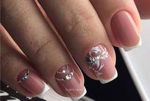 weding nails bride