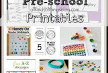 Free Printables for Kids / Looking for free printables for kids?  Find all sorts of coloring pages and activity sheeys for kids here