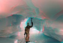 Fernando Moussalli_ANTARTICA 3D / As melhores fotos da Antártica utilizando a técnica de captação 3D. **Veja com os óculos com lentes azuis e vermelhas. Para mais informações contato@fernandagallardo.com.br