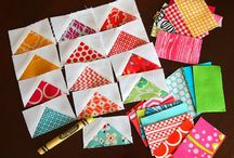 Quilts-Flying Geese & Triangles / by Lori Duncan