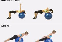 Fit ball exercises