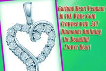 Heart Pendants / by Classic Diamond House