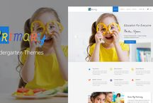 Primary – Kids & Kindergarten School PSD Template / PRIMARY is a primary and kindergarten school PSD template for kids and educators. The template is empowered with material design colors and full UI set which make it second to none on the market. It's so easy to modify the template to serve online schools, kid events, babysitter and tutor center.