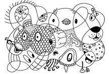 École dessin coloriage