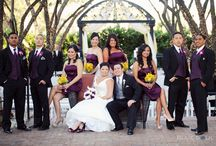 Bridal Party Portraits / A collection of bridal or wedding party portraits to give couples and photographers some ideas on where to take their photos and how to be posed.