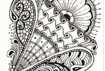 Zentangles / Drawing and doodling h