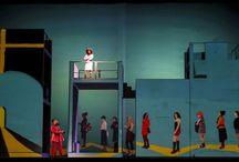 I was looking at the Ceiling / Song play di John Adams Teatro dell' Opera Roma  diretto da Giorgio Barberio Corsetti con la collaborazione di www.officine-k.com photo by Olimpia Nigris Cosattini