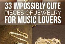 music jewellery