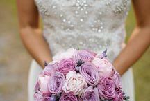 Purple Wedding Flowers / Ideas and inspiration for purple wedding flowers and decor