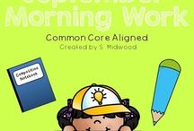 Morning Work / Buy month long Morning Work packets to PRINT AND USE INSTANTLY!!