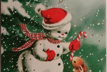 Gamle julekort Old Christmas cards