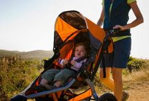 Active Strollers / For those moms and dads into jogging & hiking, having the right stroller is CRUCIAL. Learn everything you need to know about jogging & all-terrain strollers!