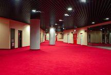 Tauron Arena Kraków / Realizacja oświetlona przez ES-SYSTEM - hala widowiskowo-sportowa - Tauron Arena