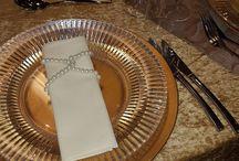 A Golden Banquet / rich luxurious gold decor