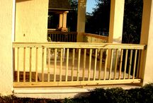 Handrails / Guardrails / Design Pro Screens had been providing Central Florida customers with quality custom made handrails and aluminum guardrails for your pools since 1993. Call today for courteous service! 407-339-1090