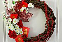 oriental wreath