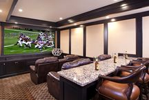 Seahawks-Home & Theater Room Idea's / Relax,Yell and enjoy the game. / by Linda Finni