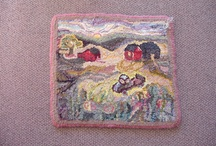 Rug Hooking Pictorials 2 / by Sylvia Gauthier