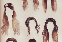 hair / These styles <3