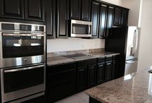 """Valencia Super Kitchen / Wow! 30"""" double ovens, flat cook-top, extended island...it's gorgeous!!!"""