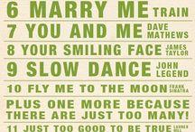 Bruiloft songs nummers