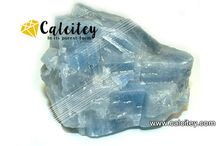 Blue Calcite / Calcite  calcium carbonate (CaCO3)
