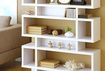 shelves modern style