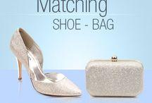 womens matching shoe bag