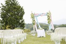bridal coordinate / 結婚式のコーディネイト