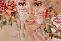 pintura rostro