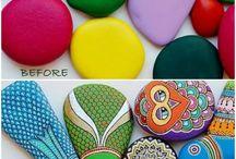 ζωγραφιστες πετρες