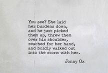 Poetry - Jonny Ox