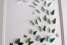 Butterflies and other Wall decore