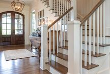 Country House Interiors / Ideas for interior design of new house
