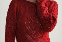 Вязание. Пуловеры, жакеты, кофты